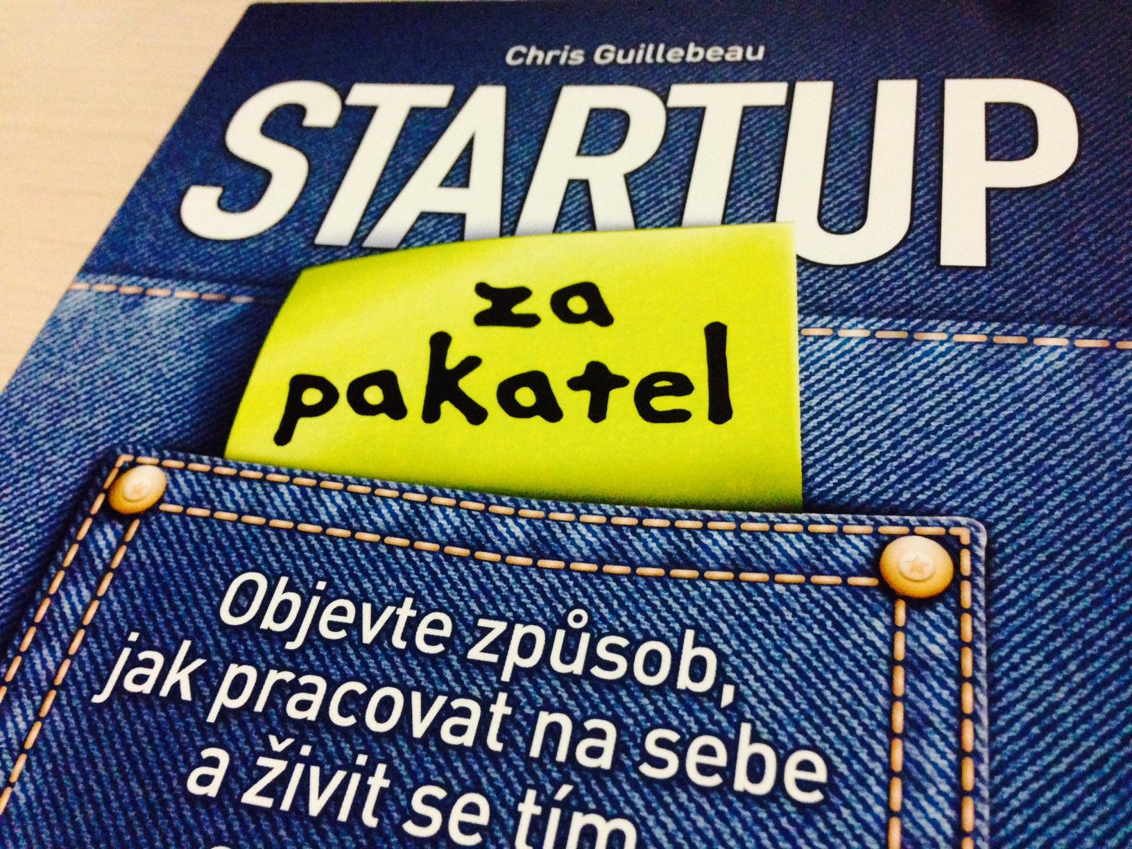 Tomáš Zahradník | Startup za pakatel, recenze